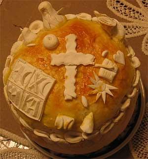 Slava cake