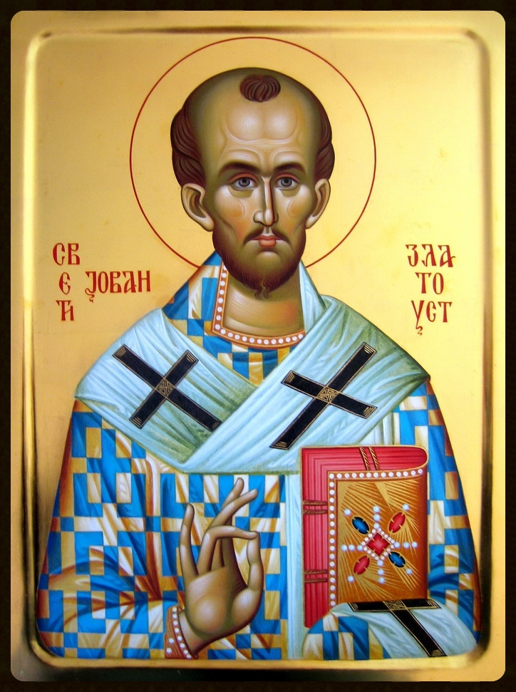 St John Chrysostom (the Golden-Tongued), Patriarch of Constantinople
