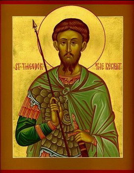 The Holy and Great Martyr Theodore the Tyro