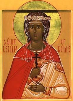 The Holy Martyr Cecilia