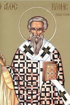 The Hieromartyr Clement, Bishop of Rome