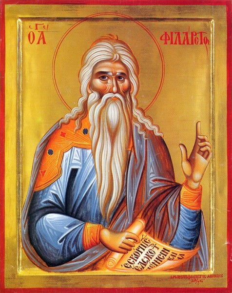 St Philaret the Merciful