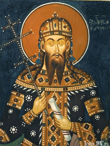St Uros, King of Serbia