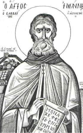 St John the Silent (the Hesychast)