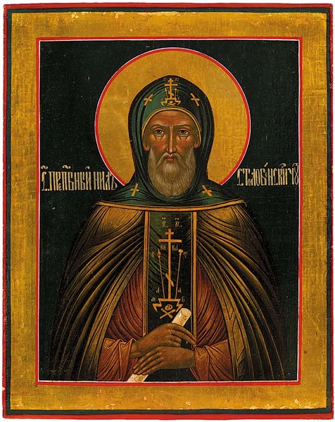 Our Holy Father Nilus of Stolobnoye