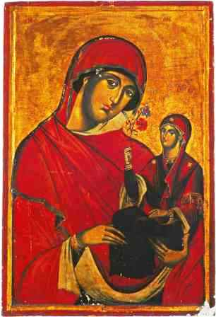 The Conception by St Anna of the Most Holy Mother of God