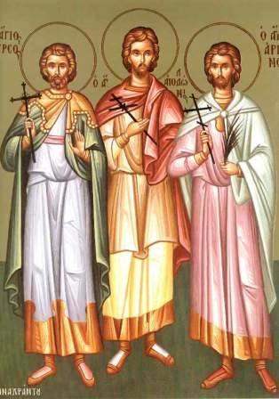 The Holy Martyrs Thyrsus, Leucius and Callinicus