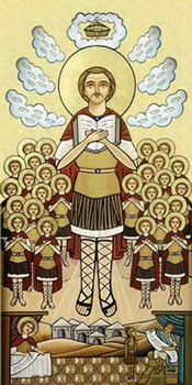 The Holy Martyr Maurice and the 70 soldiers with him