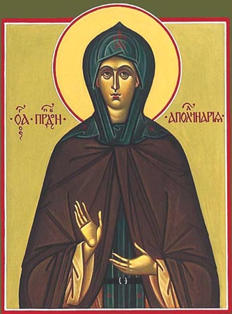 Our Holy Mother Apollinaria