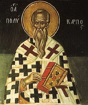 The Hieromartyr Polycarp, Bishop of Smyrna