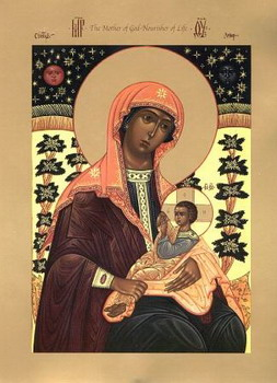 The Icon of the Mother of God,