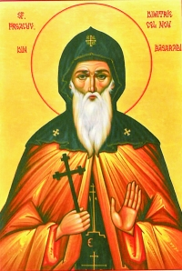 Venerable Demetrius of Basarbov in Bulgaria (1685)