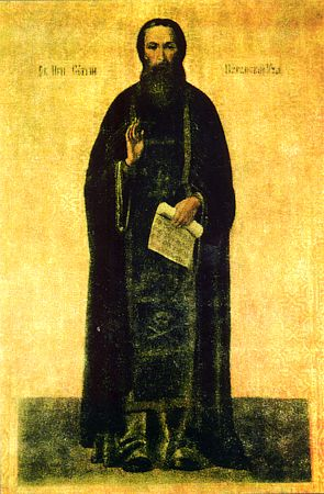 Venerable Sergius, abbot of Nurma (Vologda) (1412)