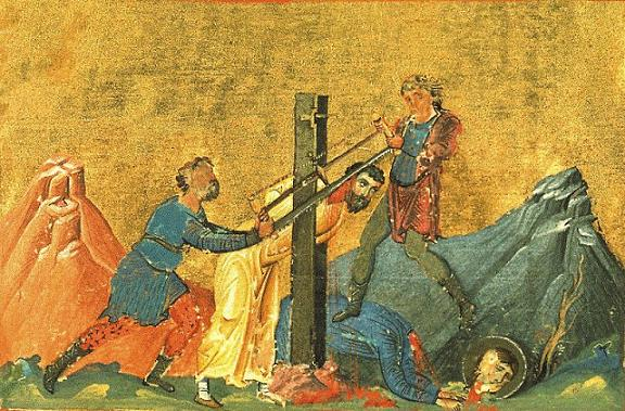 Martyrs Sarbelus and Bebai (Barbea) of Edessa (2nd c.)