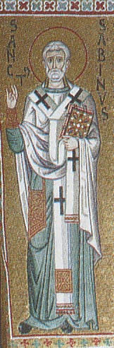 St. Sabinus, bishop of Catania (760)