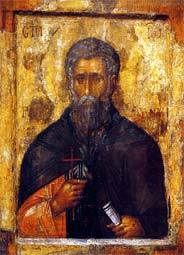 Translation of the relics (1195) of Venerable John, abbot of Rila in Bulgaria (946)
