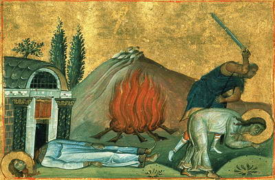 Martyrs Capitolina and Eroteis of Cappadocia (304)