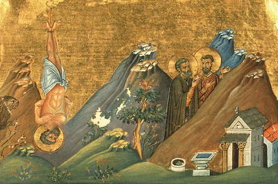 Martyr Zosimas the Hermit and Martyr Athanasius