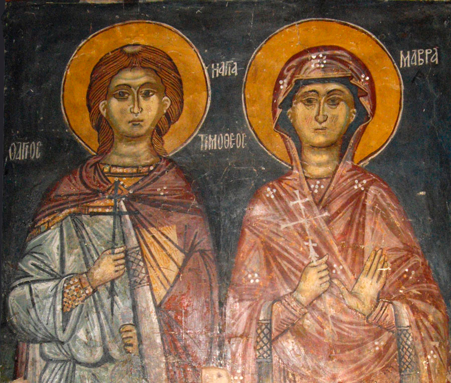 The Holy Martyrs Timothy and Maura