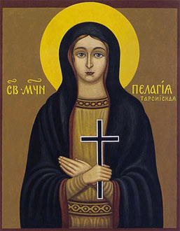 The Holy Martyr Pelagia of Tarsus