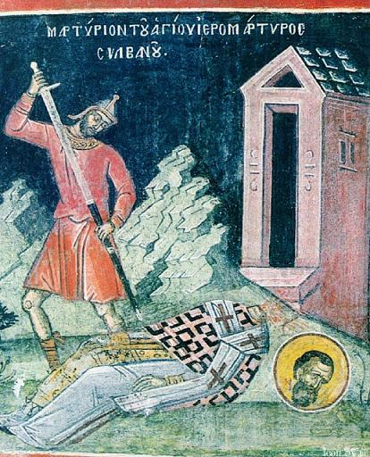 The Hieromartyr Silvanus, Bishop of Gaza