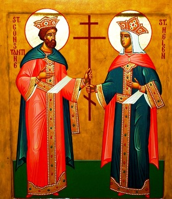 +++ The Holy Emperor Constantine and the Empress Helena