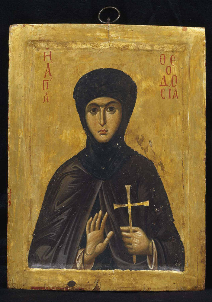 Our Holy Mother, the Martyr Theodosia