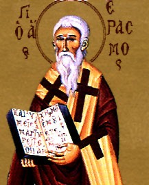 The Hieromartyr Erzmo of Ochrid