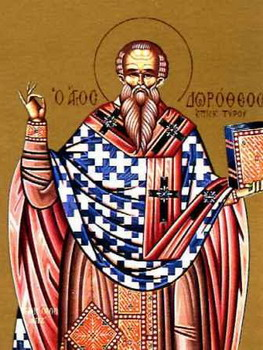 The Hieromartyr Dorotheus, Bishop of Tyre