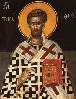 The Hieromartyr Timothy, Bishop of Brussa