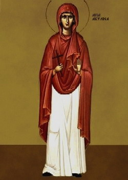 The Holy Martyr Aquilina