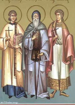 The Holy Martyrs Manuel, Sabel and Ishmael