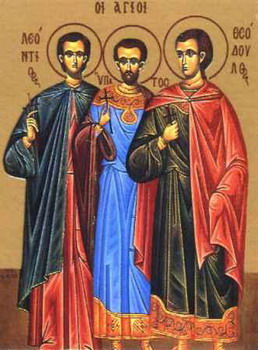The Holy Martyr Leontius