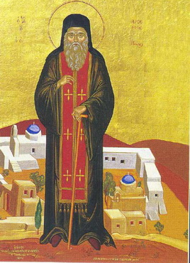 Venerable Arsenius the New of Paros (1877)