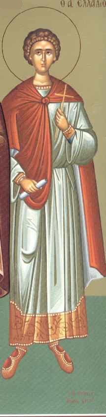 Martyr Theophilus the Deacon, in Libya
