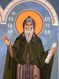 Venerable Eleazar of Anzersk Island at Solovki (1656)