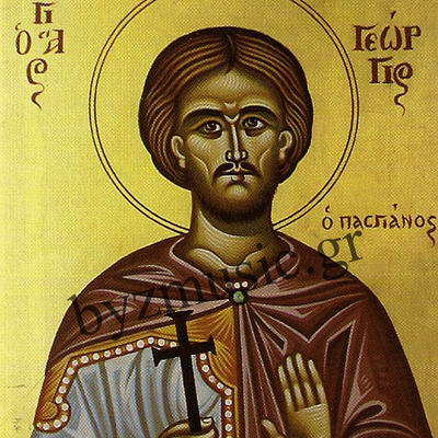 New Martyr George the Tailor of Mitylene, at Constantinople (1693)