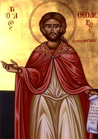 New Martyr Theodore