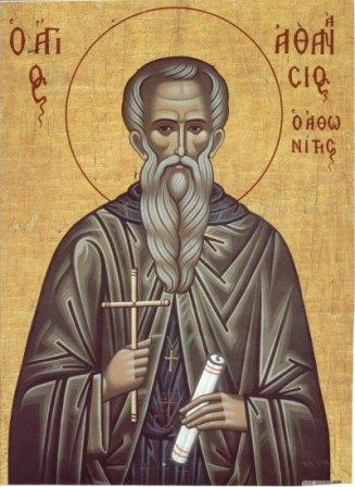 Our Holy Father Athanasius the Athonite