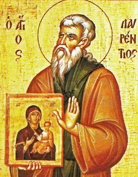 Venerable Laurence, founder of the monastery of the Mother of God on Salamis