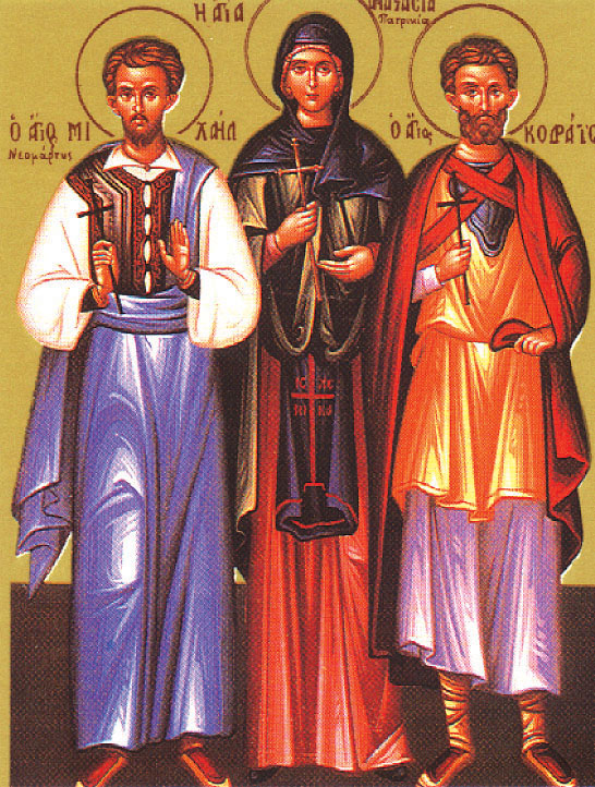 The Holy Martyr Michael (Maurudisos) of Soluneia