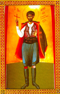 New Martyr Manuel of Crete (1792)
