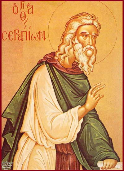 St. Serapion the Sindonite, monk of Egypt (542)