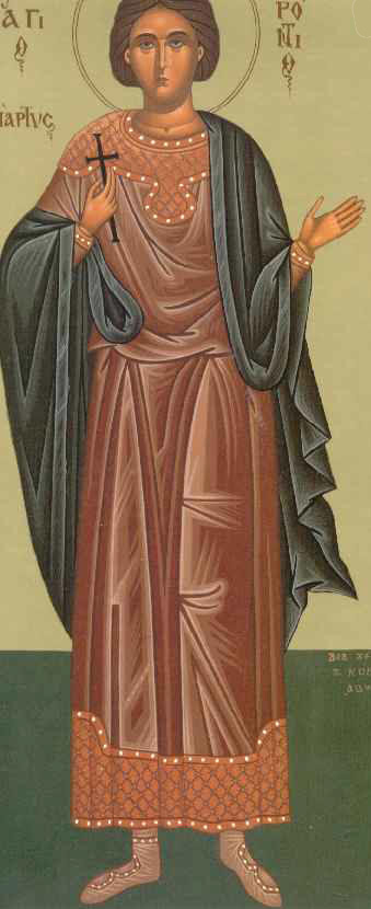 Martyrs Geroncius and Basilides (3rd c.)