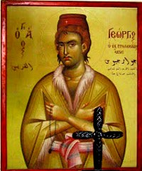 New Martyr George of Ptolomais (1752)