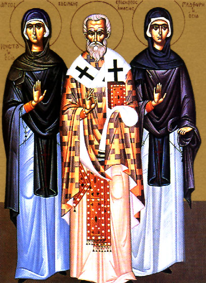 Righteous Virgin Glaphyra of Nicomedia (322)