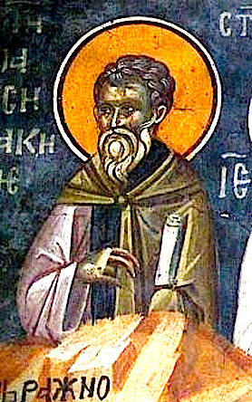 St. Pausicacius, bishop of Synnada (606)