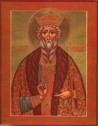 St Vladimir, Great Prince of Russia