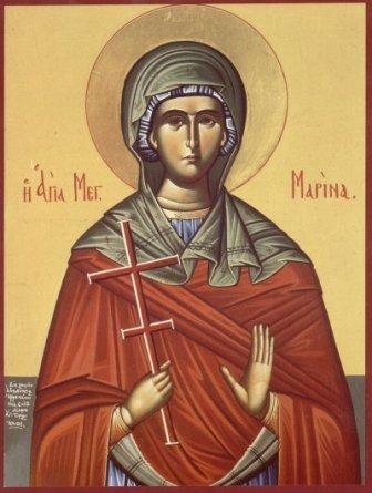 The Holy Martyr Marina