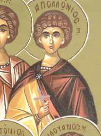 Martyr Apollonius of Sardis (3rd c.)